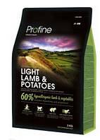 Profine DOG Light Lamb с ягненком и картофелем 3 кг