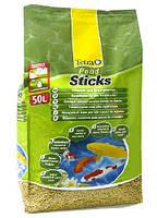 Корм для прудовых рыб в виде плавающих на поверхности воды палочек Tetra Pond Sticks (Тетра понд стикс), 50 л