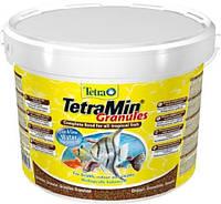 Корм для аквариумных рыб гранулированный Tetra TETRAMIN Granules (Тетра Тетрамин Гранулы), 4,2кг (10 л)