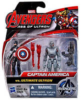 "Игровой набор Капитан Америка против Альтрона - Captain America vs Ultimate Ultron, ""Age of Ultron"", Hasbro"