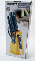 Набор кухонных ножей с подставкой Kaizer Hoff 5+1