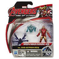 """Игровой набор Железный человек против Альтрона - Iron man Mark vs Sub-Ultron, """"Age of Ultron"""", Hasbro"""