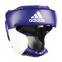 Боксерский шлем ADIDAS Response Standard Head Guard (сине-белый)