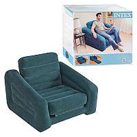 Надувное кресло трансформер Intex 68565 (218х109х66 см)
