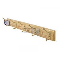 Вешалка для одежды 5 ел. 49*6,5 см деревянный E435 Вг