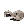 Розовая кепка бейсболка Polo Ralph Lauren (кож. ремешок) , фото 2