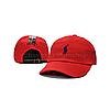 Розовая кепка бейсболка Polo Ralph Lauren (кож. ремешок) , фото 4