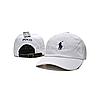 Бежевая кепка бейсболка Polo Ralph Lauren (кож. ремешок) , фото 3