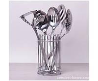 Набор кухонных принадлежностей 7 предметов из нержавеющей стали. арт. 5232