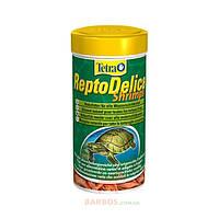 """Корм-лакомство для водных черепах """"TetraFauna ReptoDelica Shrimps"""" (Тетра) Tetra (250 мл)"""