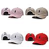 Бежевая кепка бейсболка Polo Ralph Lauren (кож. ремешок) , фото 5