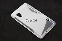 Чехол накладка для LG Optimus L5 II E450 / E460 матовый/прозрачный, фото 1