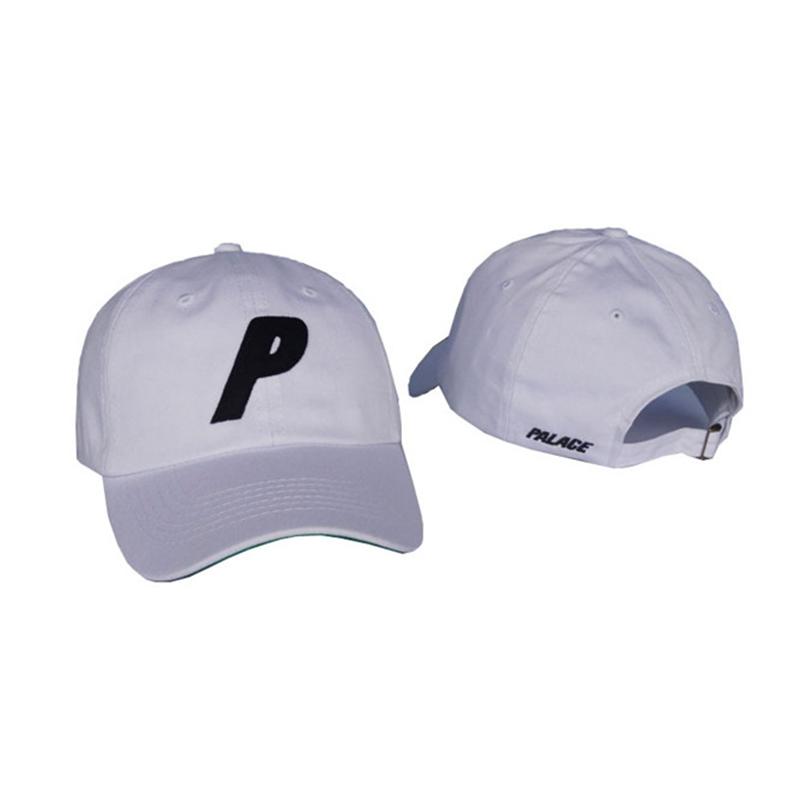 Белая кепка бейсболка Palace skateboards