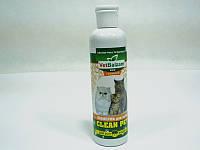 Ветбальзам, шампунь с бишофитом для котов для всех видов шерсти - 250 мл.