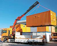 Перевозка контейнеров автотранспортом Перевозки контейнеров