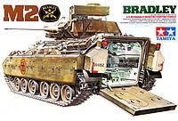 1:35 Сборная модель БМП M2 Bradley, Tamiya 35132