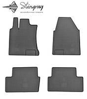 Купить коврики в салон Nissan QASHQAI  2007- Комплект из 4-х ковриков Черный в салон. Доставка по всей Украине. Оплата при получении