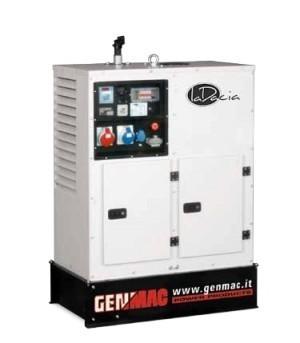 Трехфазная дизельная электростанция GENMAC Living G11000LSM (11,5 кВа)