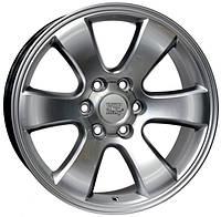 WSP-Italy W1707 Yokohama hyper silver (R20 W9.5 PCD6x139.7 ET30 DIA106.1)