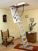 Чердачная металлическая лестница с люком Oman Alu Profi