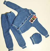Комплект детской одежды (3 предмета) для малышей р. 80-92    арт. Вевi kids Турция - 82