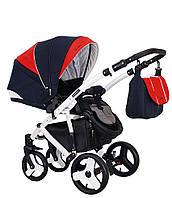 Детская универсальная коляска 2 в 1 FLORINO - Coletto Польша люлька + прогулочный блок с сумкой