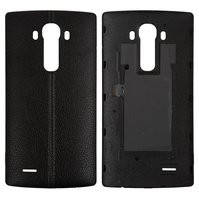 Задняя крышка батареи для мобильных телефонов LG G4 F500, G4 H810, G4 H811, G4 H815, G4 H818N, G4 H818P, G4 LS991, G4 VS986, черная, Leather Black