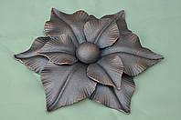 Кованый цветок  ручной сборки