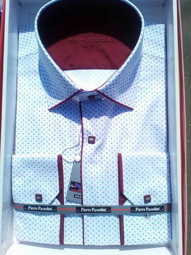 Рубашка Мужская норма приталенная Pierre Pasolini на кнопках
