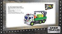 """Машина """"Junior trucker"""" Сміттєзбиральник зі світлом та звуком, 28 см"""