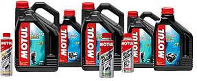 Масла и смазки для лодочных моторов Motul