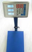 Весы ACS 300kg 40*50 Domotec 6V с железной головой