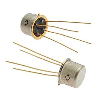 2П302В транзистор кремниевые планарные полевые с затвором на основе p-n перехода и каналом n-типа  КТ-2-12