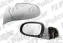 Зеркало эл+обогр / под покрас Mercedes A-Class W168 97-04