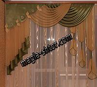 Ламбрекен на карниз 2 метра, фото 1