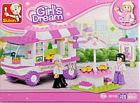 Lego город домик лего конструктор игра для девочек