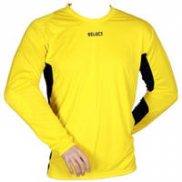 Свитер вратарский SELECT Goalkeeper Shirt Madrid (жёлтый) р.XXL