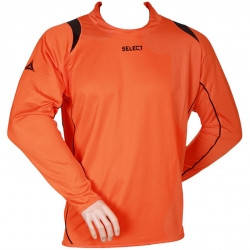 Свитер вратарский SELECT Goalkeeper Shirt Spain (оранжевый) р.XXL, фото 2