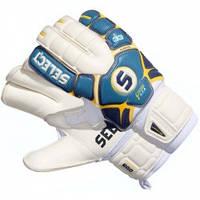 Перчатки вратарские Select 33 Allround (голубые)