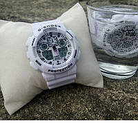 Часы мужские CASIO G-SHOCK white