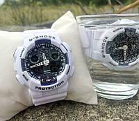 Часы мужские CASIO G-SHOCK white-blue