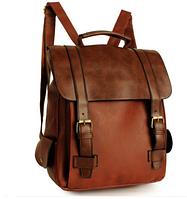 Сумка рюкзак женский коричневый