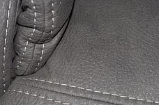 Шкіряний диван реклайнер Rio, диван реклайнер, м'який диван, меблі з шкіри, фото 3