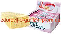 Батончик Figuactiv со вкусом клубничного йогурта, набор из 6 шт.