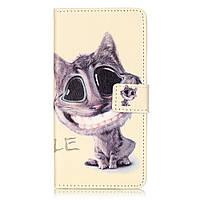 Чехол книжка TPU Wallet Printing для ZTE Blade V7 Lovely Cat