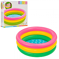 Детский надувной бассейн «Радуга» | «Intex»