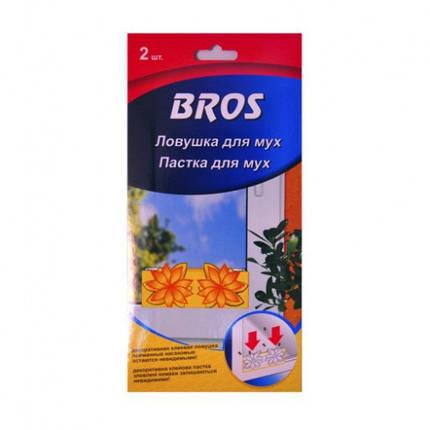 """Пастка для мух на вікно """"Bros"""" 2шт , фото 2"""