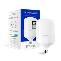 LED высокомощная лампа Global 40W Е27 6500К