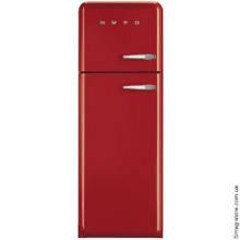 Отдельностоящий двухдверный холодильник стиль 50-х годов 60 см Smeg FAB30LR1