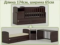 Кроватка – трансформер ORIS Marica от рождения и до подростка (цвета в ассортименте)